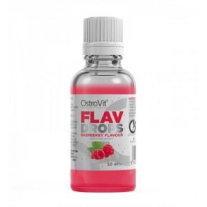 OstroVit FLAVOUR DROPS RASPBERRY 50 ml