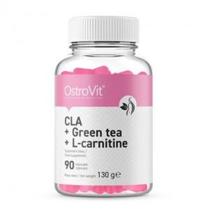 OstroVit CLA + GREEN TEA + L-CARNITINE 90 tabs