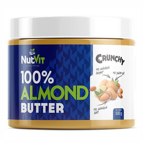 NutVit 100% ALMOND BUTTER 500g