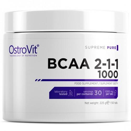 OstroVit BCAA 2-1-1 1000 150 tabs