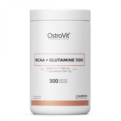 OstroVit BCAA + GLUTAMINE 1100 MG 300 caps
