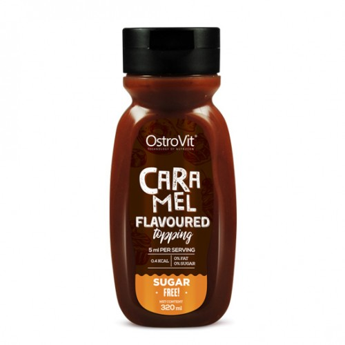 OstroVit CARAMEL FLAVOURED TOPPING 320 ml