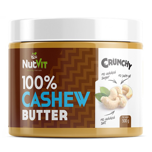 NutVit 100% CASHEW BUTTER 500g