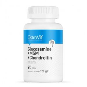 OstroVit GLUCOSAMINE + MSM + CHONDROITIN 90 tabs