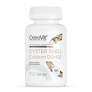 OstroVit OYSTER SHELL CALCIUM + D3 + K2 90 tabs