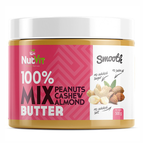 NutVit 100% MIX BUTTER 500g