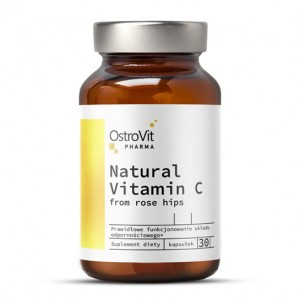 OstroVit PHARMA ELITE VITAMIN C FROM ROSE HIPS 30 caps