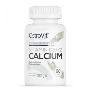 OstroVit VITAMIN D3 + K2 + CALCIUM 90 tabs